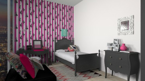 Room for Lady - Glamour - Bedroom - by sminderis3