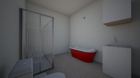 Habitacion - Bathroom  - by Mentegenia