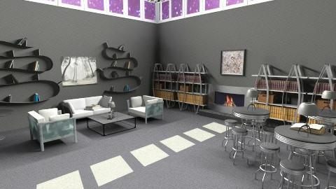 Black and White Books - Modern - Office  - by HGranger2