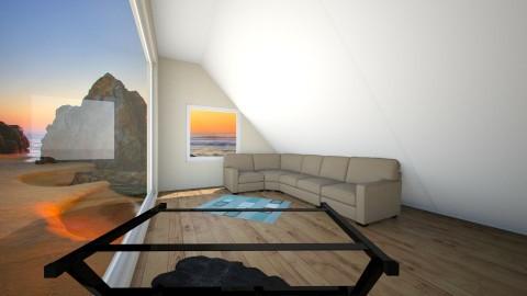 Beach house - Minimal - Living room  - by PoopSlinger