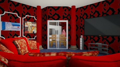 kichenzi majenzi izmislje - Retro - Living room  - by blazen12
