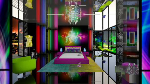 neon - Modern - Bedroom  - by Nufra
