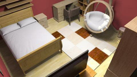 Beautey - Vintage - Bedroom  - by kristiina123