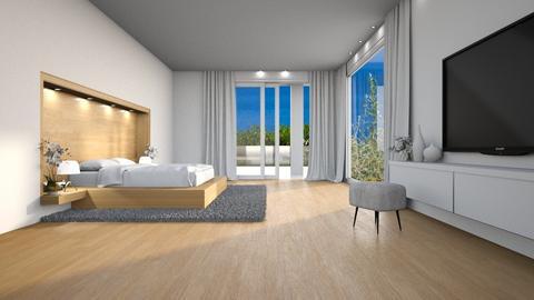 474 - Modern - Bedroom  - by Claudia Correia