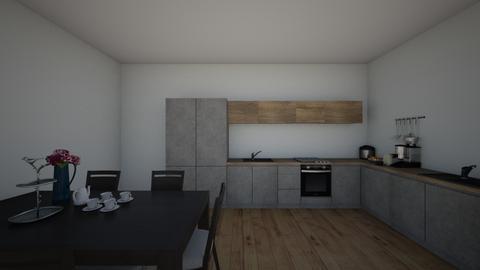 phongbepkethopphongan_001 - Modern - Dining room  - by tathianhduong2009