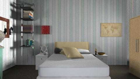 Bedroom 2 - Vintage - Bedroom  - by sherbetlollipop