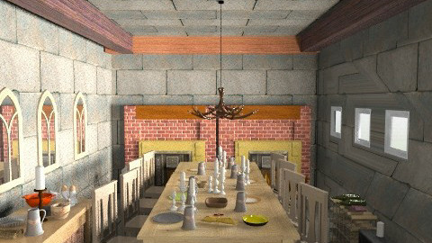 Oldtimer dining room - Rustic - Dining room  - by health