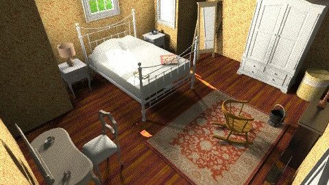 Grandma Bedroom - Vintage - Bedroom  - by GinaG3