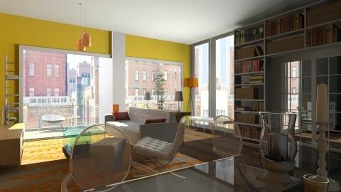 Urban flat - Living room - by cready