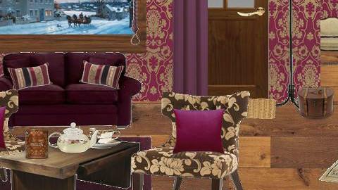 winter escape - Classic - Living room - by 5ruzk