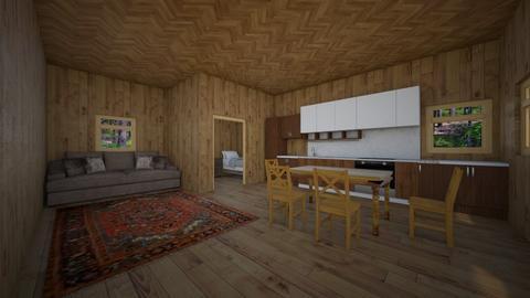 Cabin - by SusanStringham
