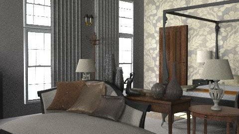 Relax Classic Bedroom - Classic - Bedroom  - by roxannelai