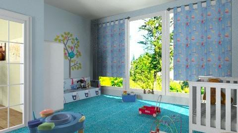 baby boy room - Kids room  - by ANAAPRIL