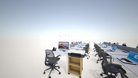 Layout Ruang komputer - Office - by Kurniyawati