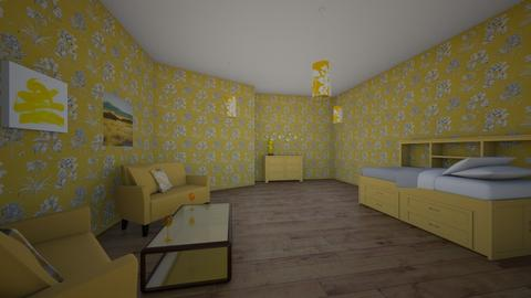 yellow room - by wassp