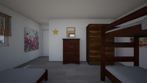 BunkingKids 2nd - Kids room  - by Daisy de Arias
