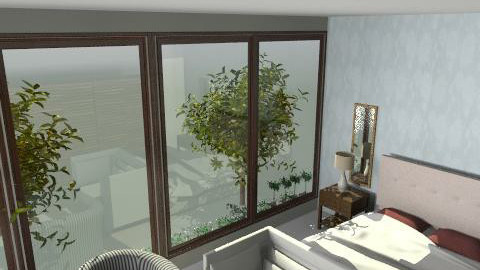 guest room 1 ici block b - Country - Bedroom  - by mehar