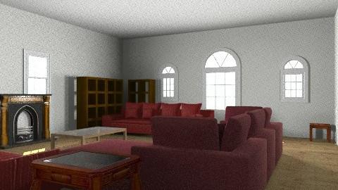 Kevin room - Retro - Bedroom  - by kevinmichel73