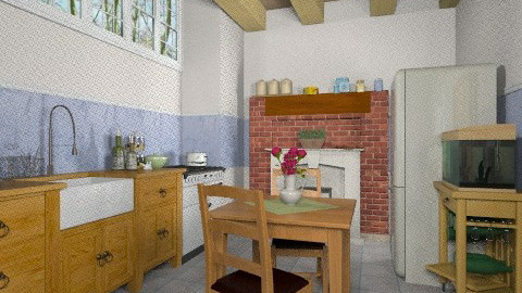 kitchen simple - Country - Kitchen - by Maria_Julia