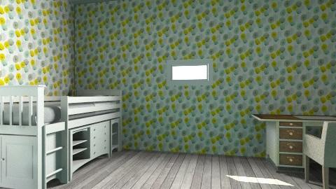 girls room - Modern - Kids room  - by kynadee11