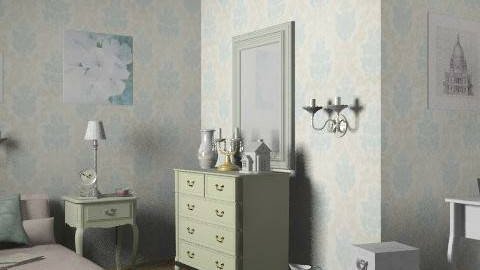 L.A. desing_2 - Rustic - Bedroom  - by milyca8