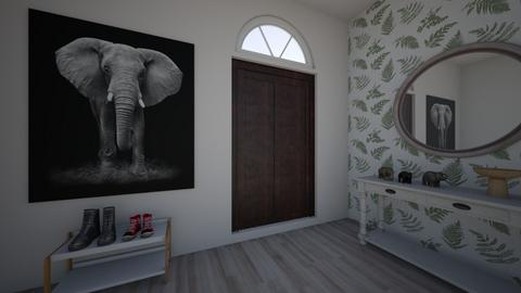 Elephant Enrty way - by reena_loughery