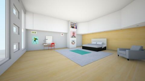 Fresh Art studio   - Bedroom - by Darcy Tooka Dunham