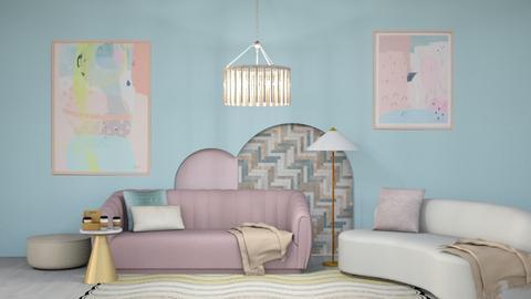 Aalya - Living room  - by C O Z Z A B