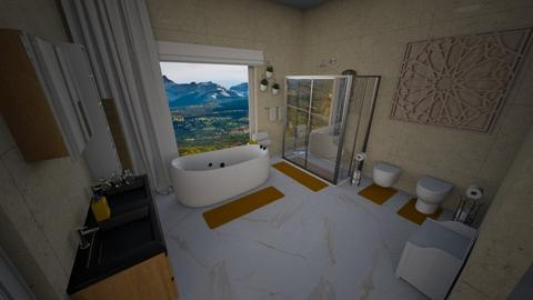 Mstr bath - Modern - Bathroom  - by alonatech_2nd