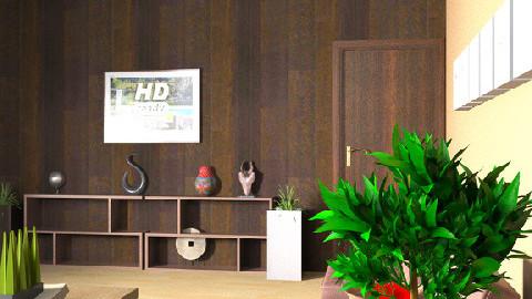 TV Room 2 - Modern - Living room - by zenobiadickson