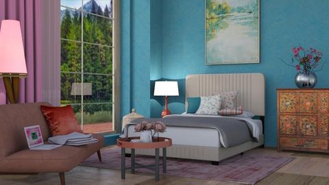 M_ Mid Morning - Bedroom - by milyca8