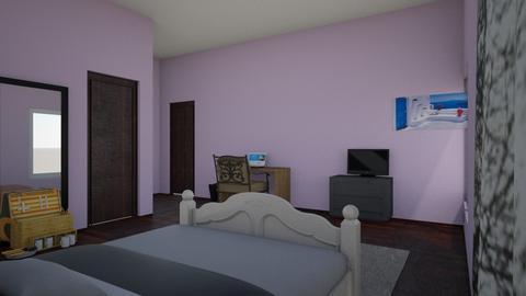 my room kinda - Bedroom  - by hunnybee963