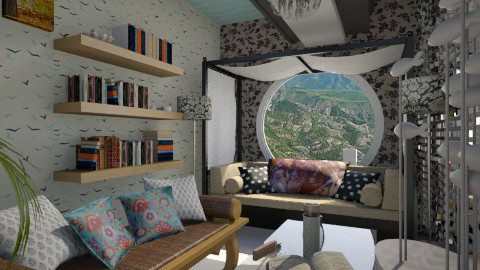 Nakagi Capsule smart room - Modern - Living room  - by aarish khan