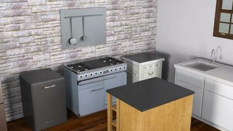 kitchennew - Minimal - Kitchen  - by gottlos