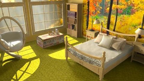 oh so still - Rustic - Bedroom  - by deleted_1550519236_sorroweenah