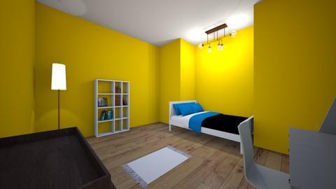 Little yellow bedroom - Bathroom  - by Room Creators