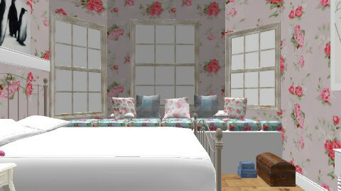 The Last of the English Roses - Classic - Bedroom  - by BambooPenguin