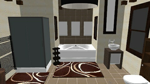 chocolate creme - 11 Mar  - Modern - Bathroom  - by kyechaos