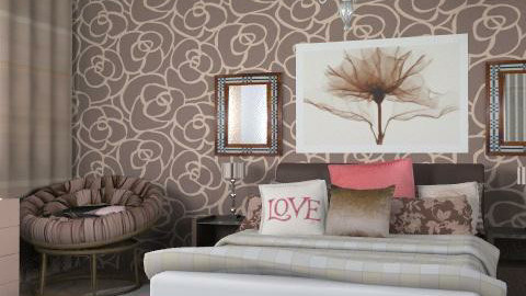 chokolate - Glamour - Bedroom - by chania