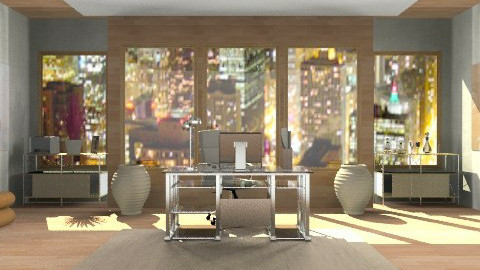 Executive office - Modern - Office  - by deepthinker