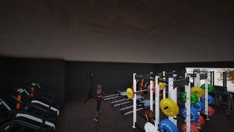 gym house - by PeachesID