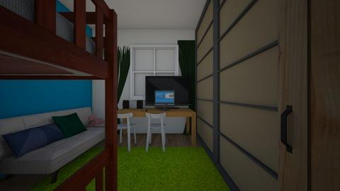 our room in rl - Kids room  - by itachi_pain