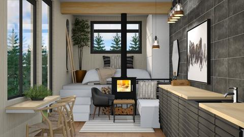 Industrial tiny home - by Victoria_happy2021