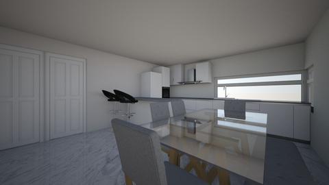 Kitchen Option 1 - Kitchen  - by lattys00