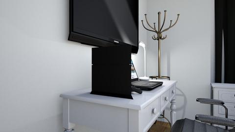 last project - Bedroom  - by Akuzekiq