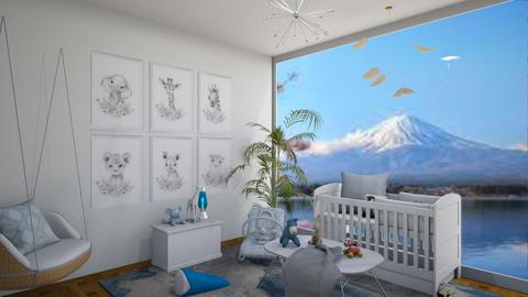 Nursery W_story chair - Kids room  - by Doraisthe_nameofmydoggo12345