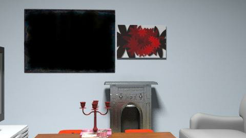 red&fire - Minimal - Living room  - by hamna298