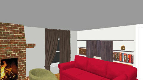 familyroom2 - Retro - Living room  - by JCatron