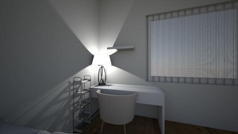 room korean style - Bedroom  - by littlenoey