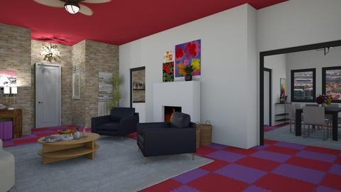 funky - Living room  - by rosej